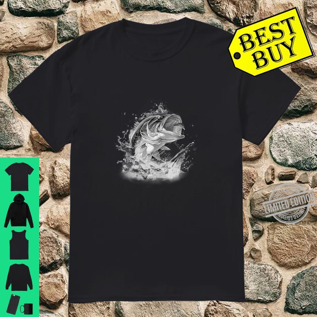 Large Mouth Bass Fishing Unisex Shirt