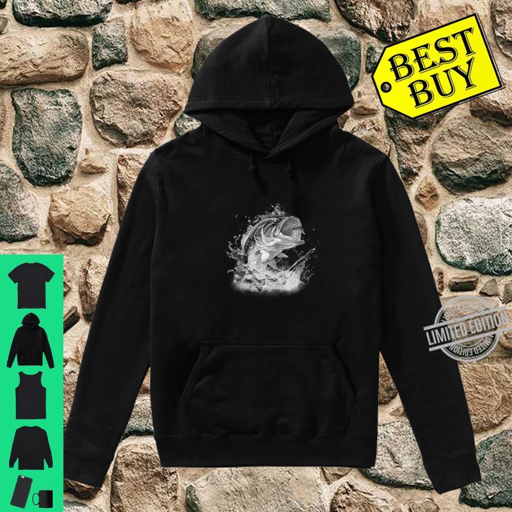 Large Mouth Bass Fishing Unisex Shirt hoodie