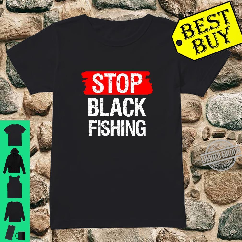 Stop Blackfishing Shirt ladies tee