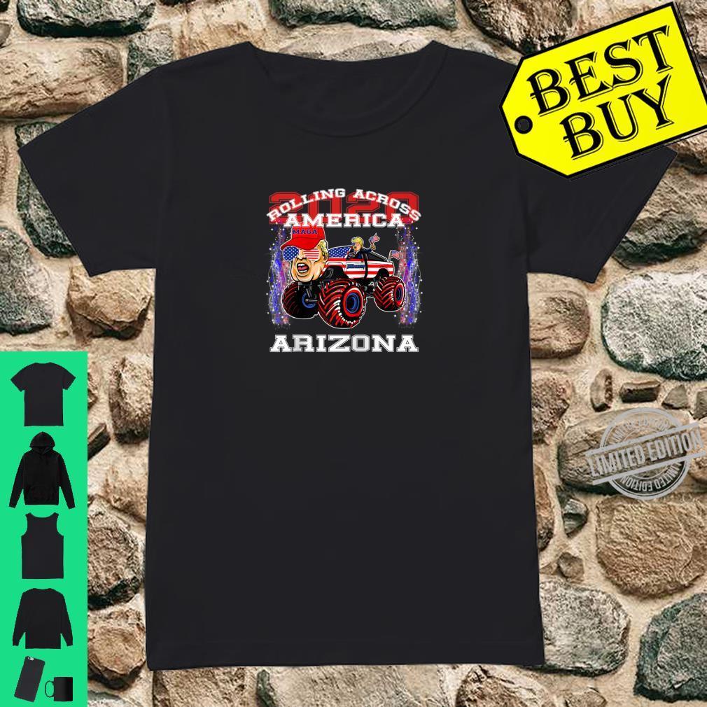 Trump 2020 Shirt Keep America Great Shirt Arizona Shirt ladies tee