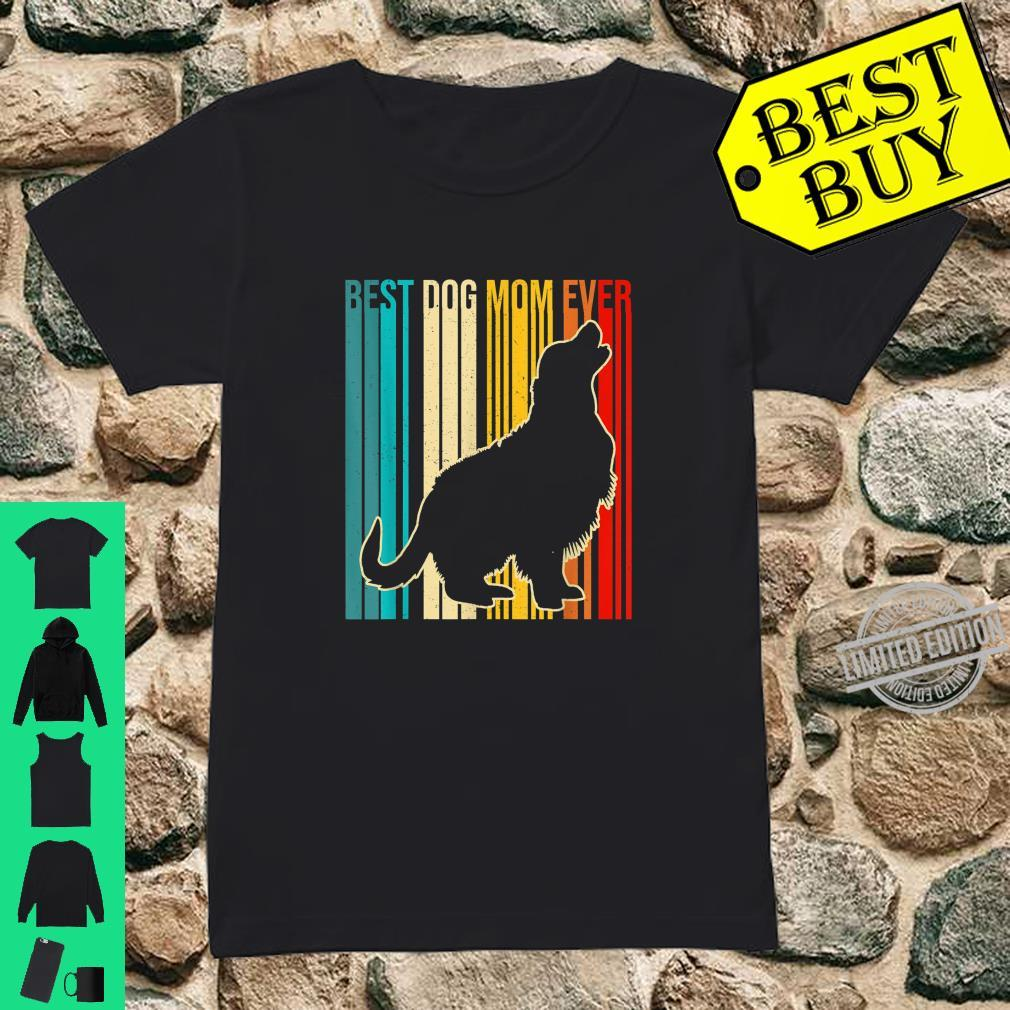 Womens Best Golden Retriever Mom Ever Mothers Day Dogs Shirt ladies tee
