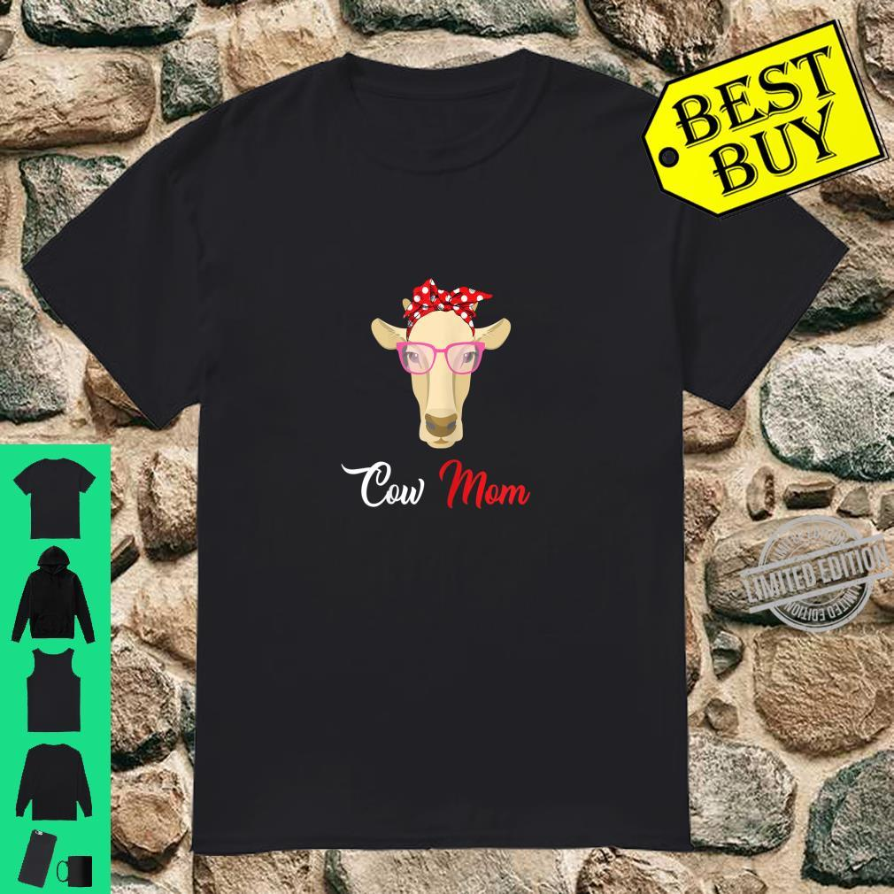 Womens Cow Mom For Mother's Day Shirt
